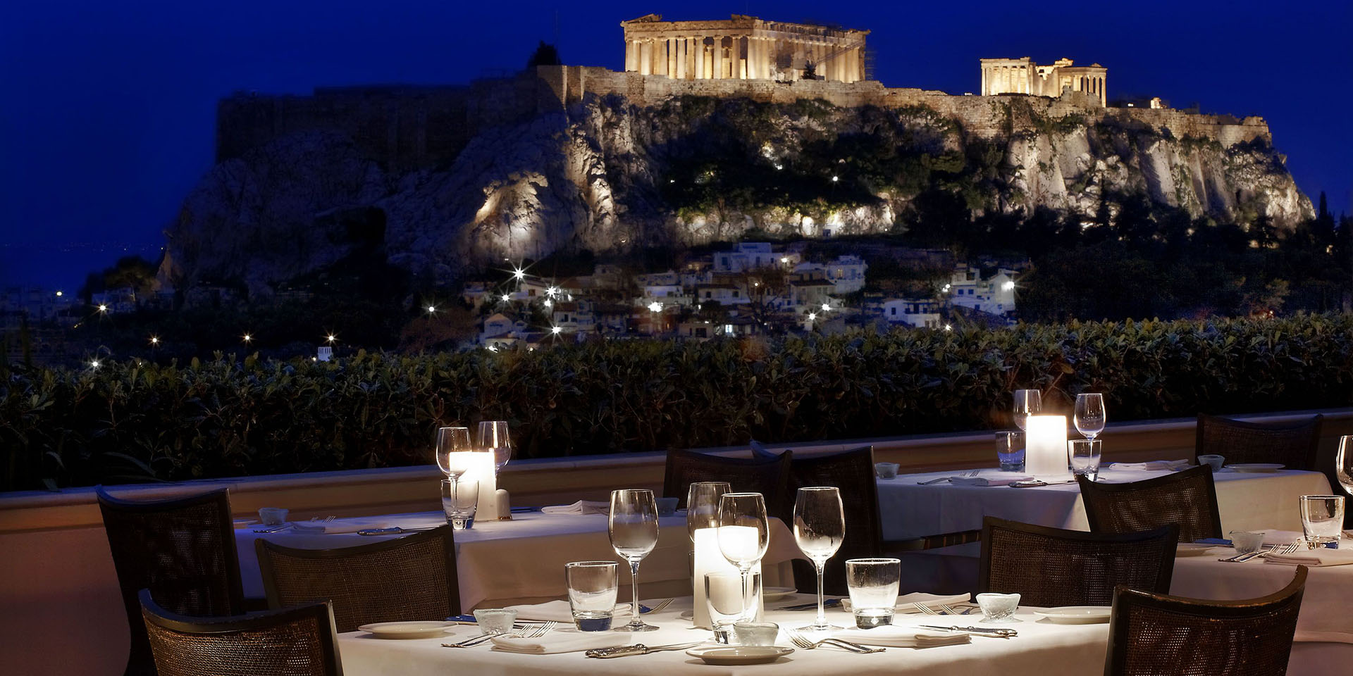 Best Place for Sunset Dinner in Athens