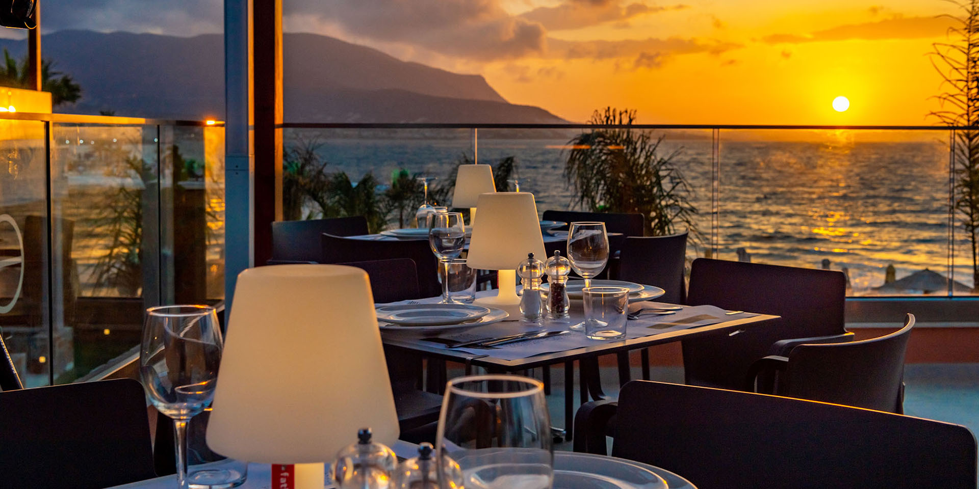 Best Place for Sunset Dinner in Crete